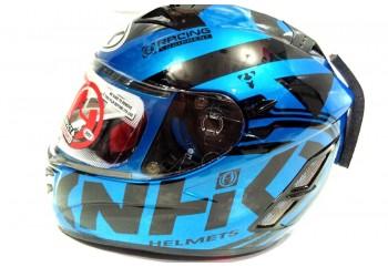 NHK Terminator 2V road Full Face Blue Black