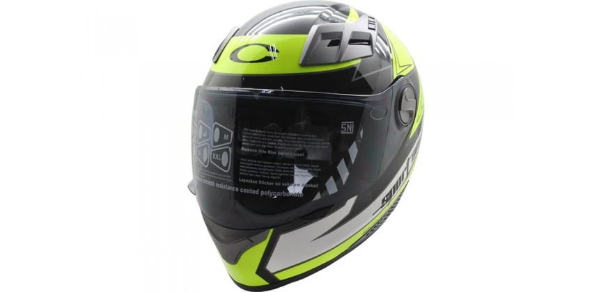New Sport One Seca Full-face Green Deep Black 0