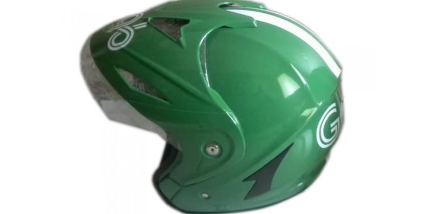 OJOL Helm Grab Half Face Dengan Topi 0