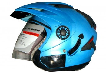 ORCA Helm Spider Half-face Ice Blue