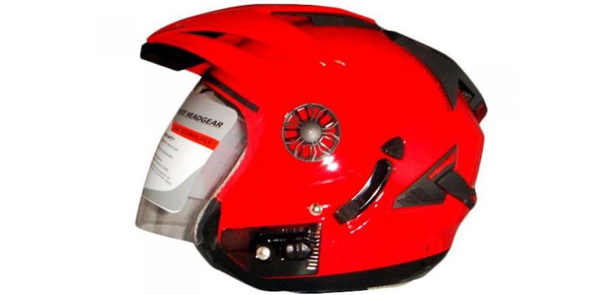 ORCA Helm Spider Half-face Red Ferari 0