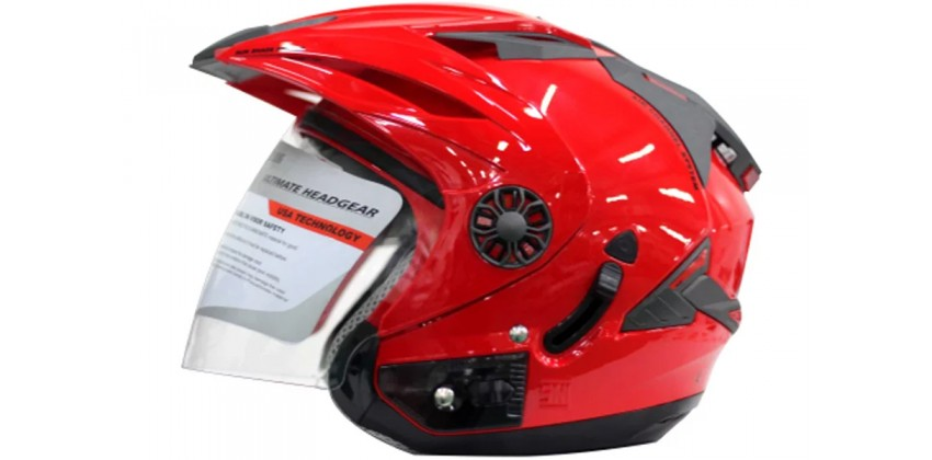 ORCA Helm Spider Half-face Royal Red 0