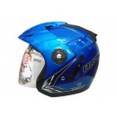 OXY Falcon Half-face Macho Blue 0