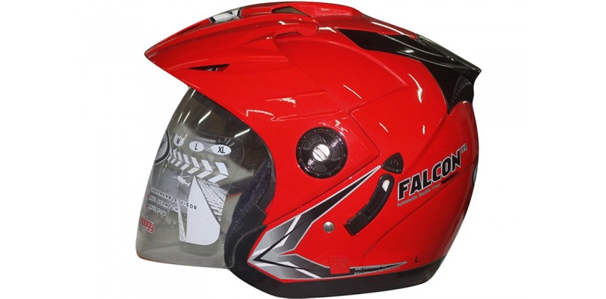 OXY Falcon Solid Half-face Royal Red 0