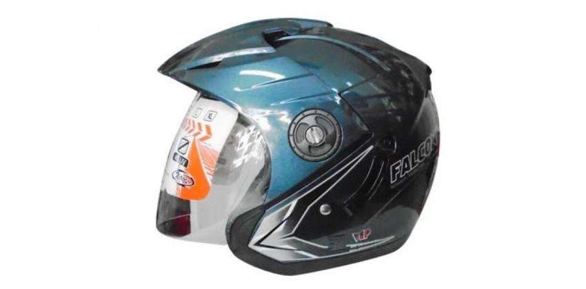 OXY Helm Falcon Half-face Dark Grey 0