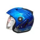 OXY Helm Falcon Half-face Macho Blue 0