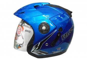 OXY Helm Falcon Half-face Macho Blue
