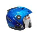 OXY Helm Falcon Half-face Macho Blue 1