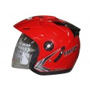 OXY Helm Falcon Solid Half-face Royal Red 0