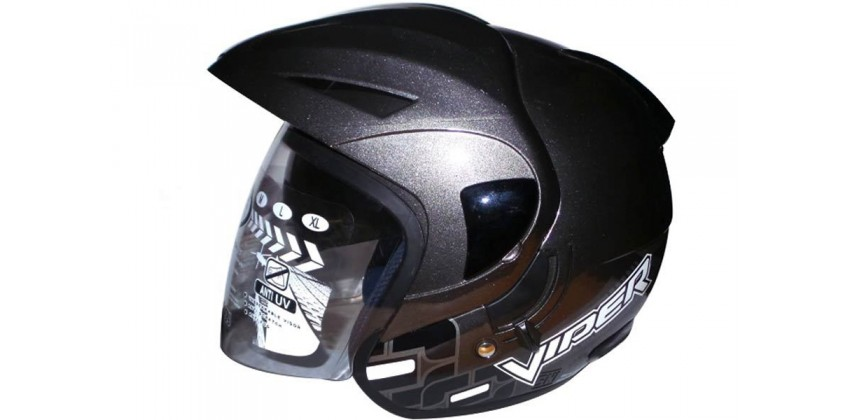 OXY Helm Viper Half-face Gunmetal 0