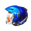 OXY Helm Viper Half-face Royal Blue 0
