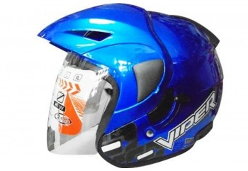OXY Helm Viper Half-face Royal Blue