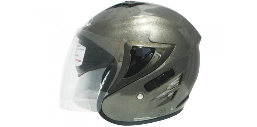 OXY Helm Voltus Half-face Gun Met 0