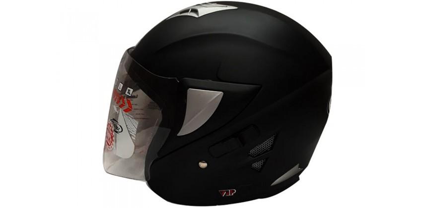 OXY Helm Voltus Half-face Sollid Black Matte 0