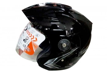 OXY Helm falcon XR Half-face Solid Black