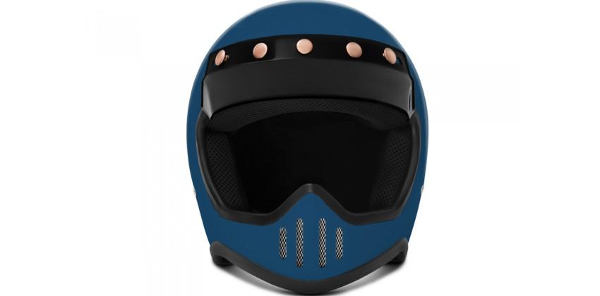 ZULU SR1SBL Solid  Helm Cakil 0