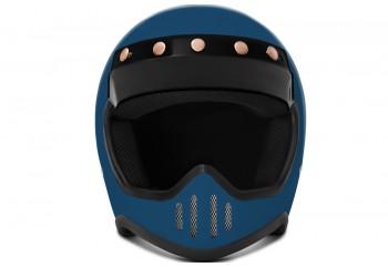 ZULU SR1SBL Solid  Helm Cakil
