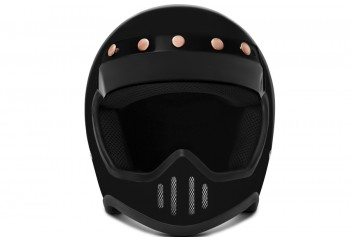 ZULU SR1 Solid  Helm Cakil Hitam /R  Helm Cakil