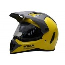 Sircon Supermoto Ferrary Yellow Full-face Full-face 0