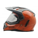 Cargloss Sircon Supermoto Mutan FZ Orange  Helm Full-face 1