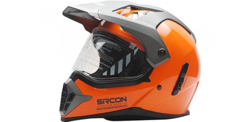 Cargloss Sircon Supermoto SM Orange  Helm Full-face 0