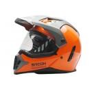 Sircon Supermoto SM Orange Full-face Full-face 0