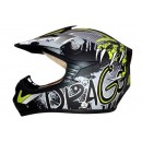 Snail Snail Helm MX-306 Drago Cross Anak Yellow  Helm Cross Anak 0