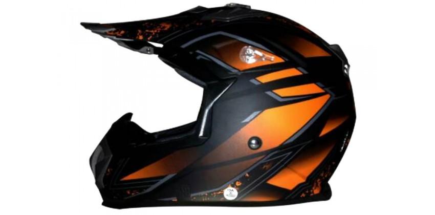 Snail Helm MX-315 Cross Orange 0