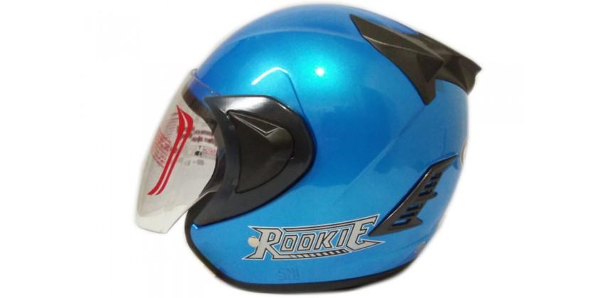 THI Helmet Basic Rookie Half Face Light Blue 0