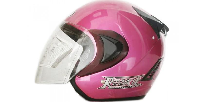 THI Helmet Basic Rookie Half Face Pink 0