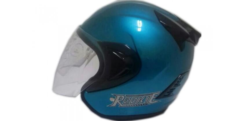 THI Helmet Basic Rookie Half Face bue 0