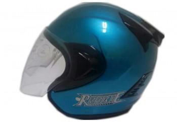THI Helmet Basic Rookie Half Face bue