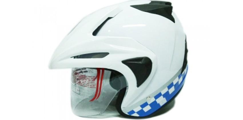 THI Helmet Dishub Half Face 0