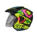 THI Helmet Exite Half Face Doff 0