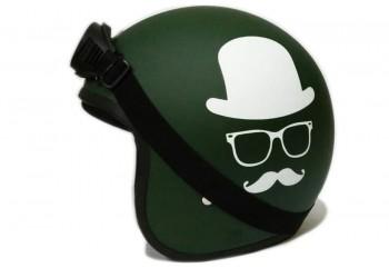 THI Helmet Gentleman -  Army Doff Helm Retro