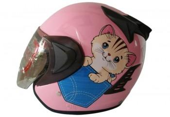 THI Helmet Kyuti Half Face Pink