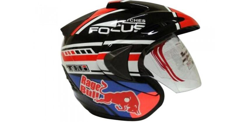 THI Helmet Marquez 93 Series Half Face 0