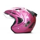 THI Helmet Rookie Solid Half Face Pink 0