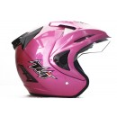 THI Helmet Rookie Solid Half Face Pink 1