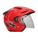THI Helmet Rookie solid Half Face Red Ferrari 1