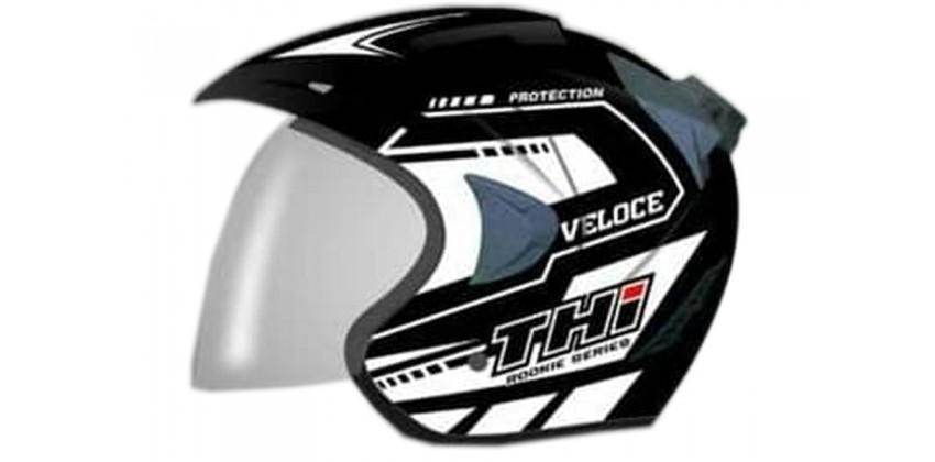 THI Helmet Veloce Half Face White 0