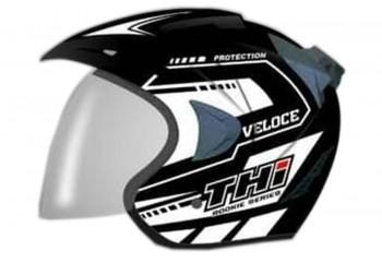 THI Helmet Veloce Half Face White