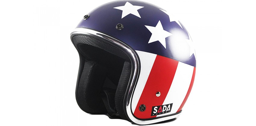 Sada Helmet The Star #2  Helm Retro 0