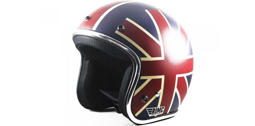 Sada Helmet Unionjack  Helm Retro 0