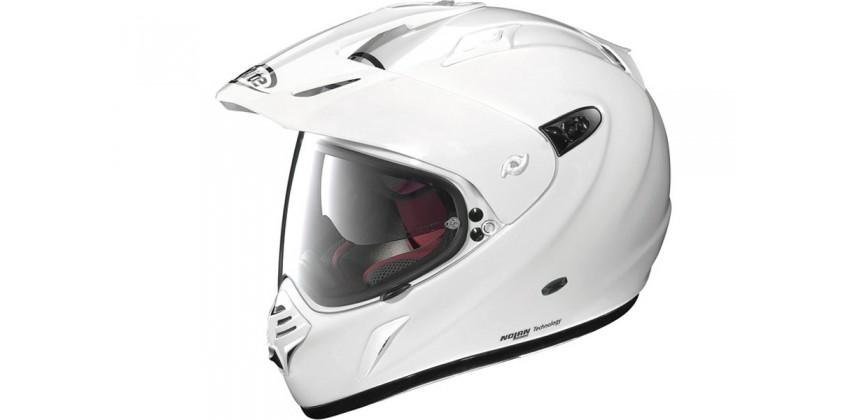 X-551 GT Start N-Com Full-face Metal White 0