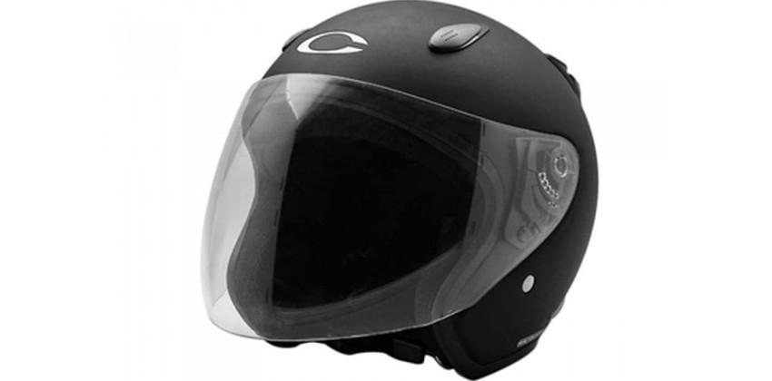 Cargloss YCN Deep Black SG  Helm Half-face 0