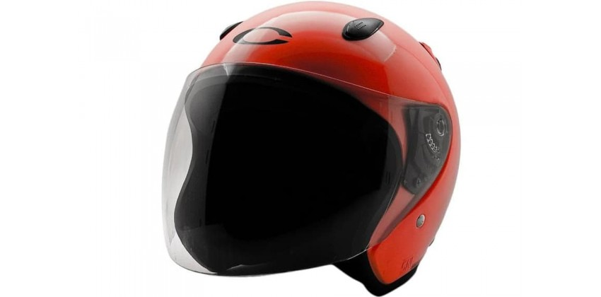 Cargloss YCN FZ Orange  Helm Half-face 0