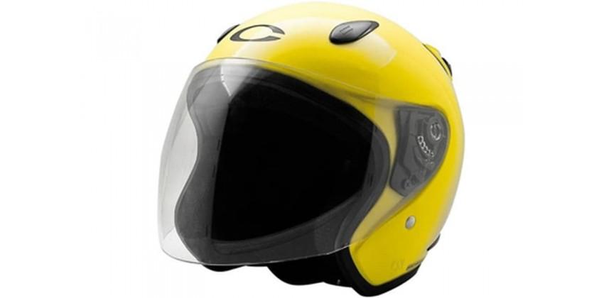 Cargloss YCN Ferrary Yellow  Helm Half-face 0
