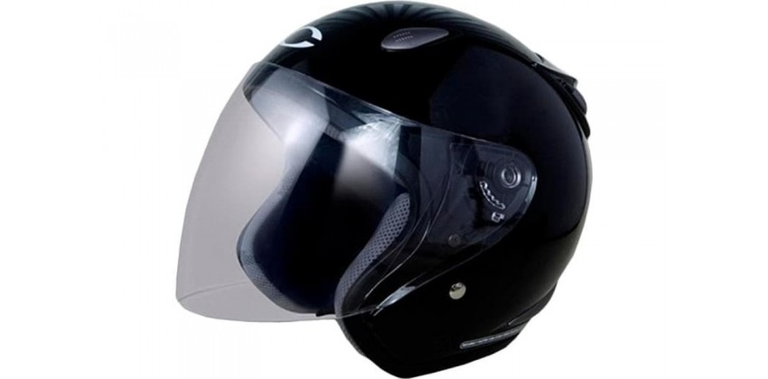 Cargloss YCN New Oackley Deep Black  Helm Half-face 0