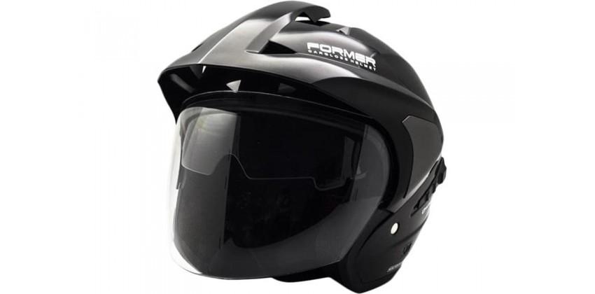 Cargloss YD Former Deep Black  Helm Half-face 0